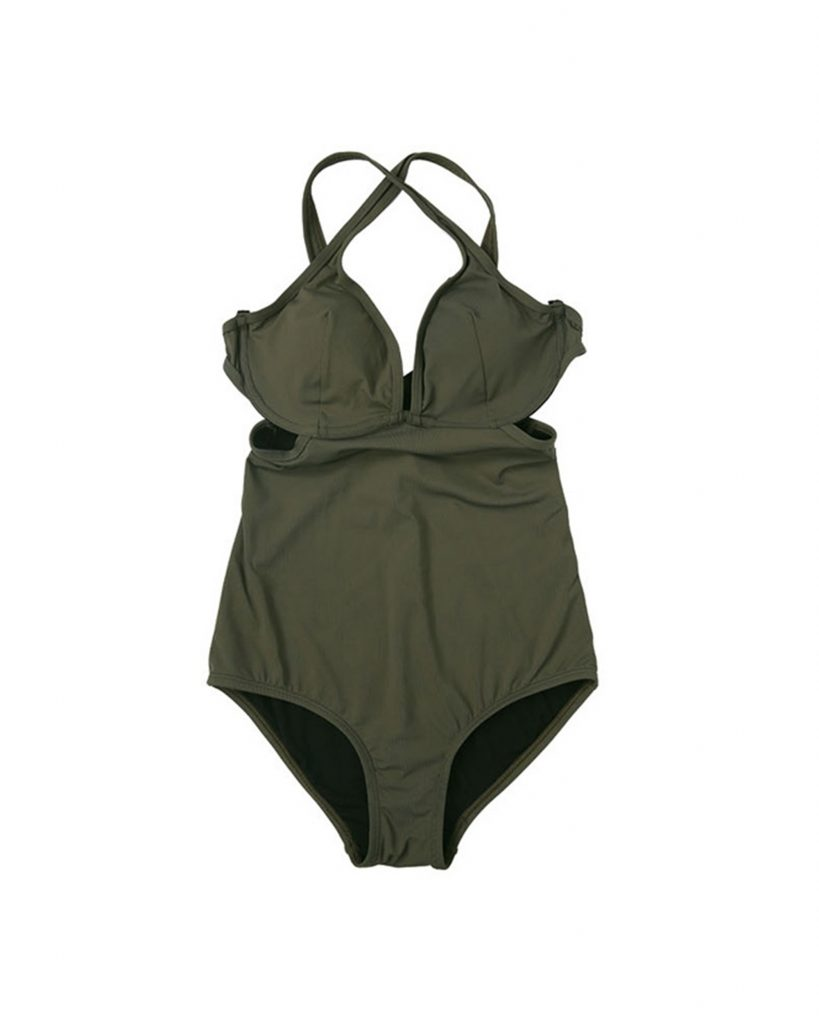 SWIFTY.BRA-Pine swimwear