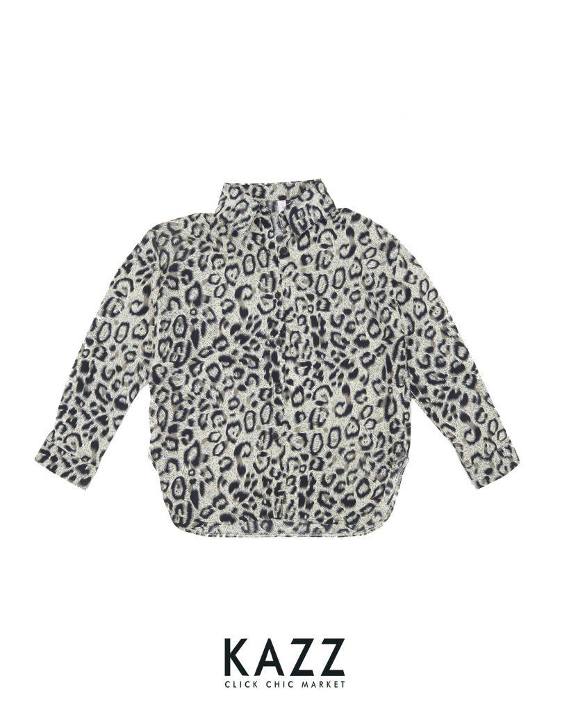 เสื้อเชิ้ตลายเสือดาว