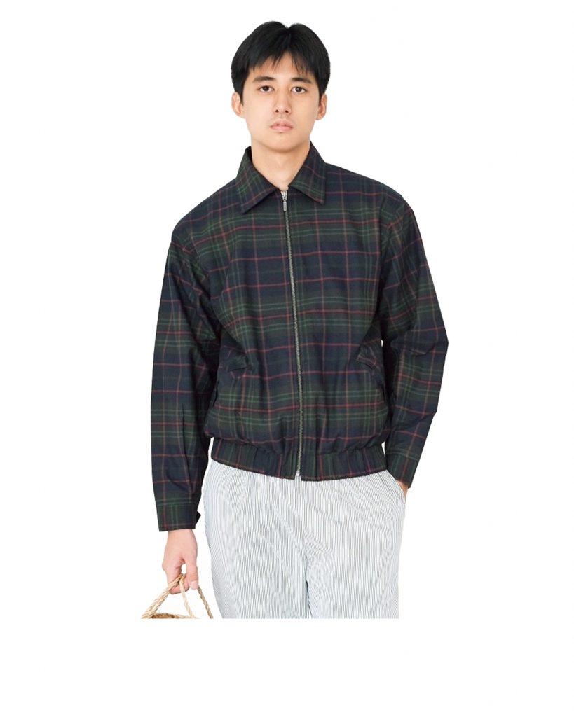YAAS STUDIO-Royce Tartan Jacket