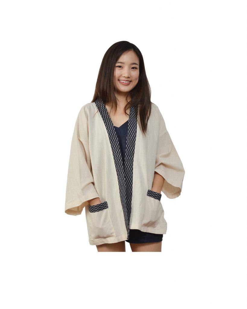 SRIPUN-เสื้อคลุมกิมโมโน