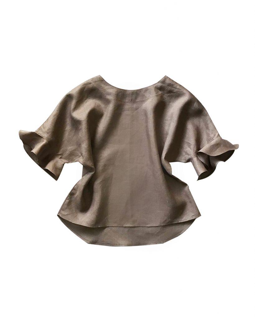 SRIPUN-เสื้อคอปาดลินิน